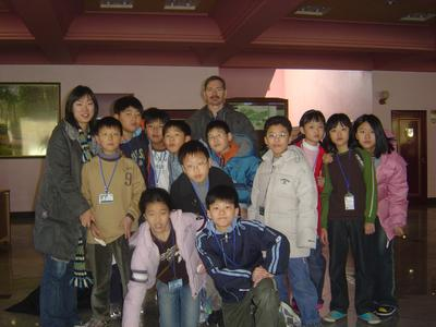 Pictures of Korean English students at camp