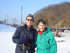 Picture of English teachers in South Korea wintercamp