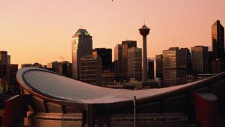 Picture of downtown Calgary, Alberta, Canada