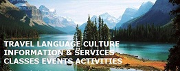 TLC Travel Language Culture Network Club logo for language exchanges, 