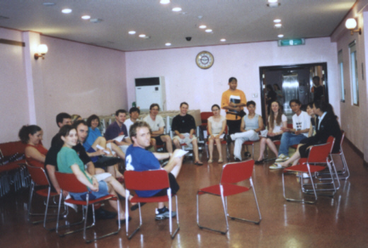 Pictures ESL in Canada 2003 Korea Daewoo Premium English Summer Camp English teachers