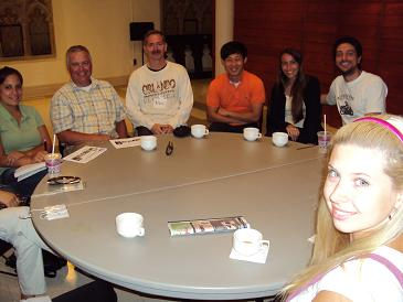 picture 2 of the St Paul's free English Cafe conversation Class in Toronto Canada