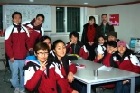 picture Korean assistant teachers