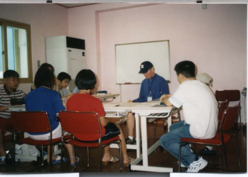 pictures English classes at summer camp