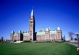 Picture of Parliament Buildings, Ottawa, Ontario, Canada