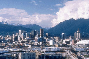 picture of downtown Vancouver, British Colombia, Canada
